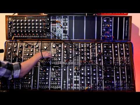 Mos-Lab Kobol Oscillator: Wave sequence demo