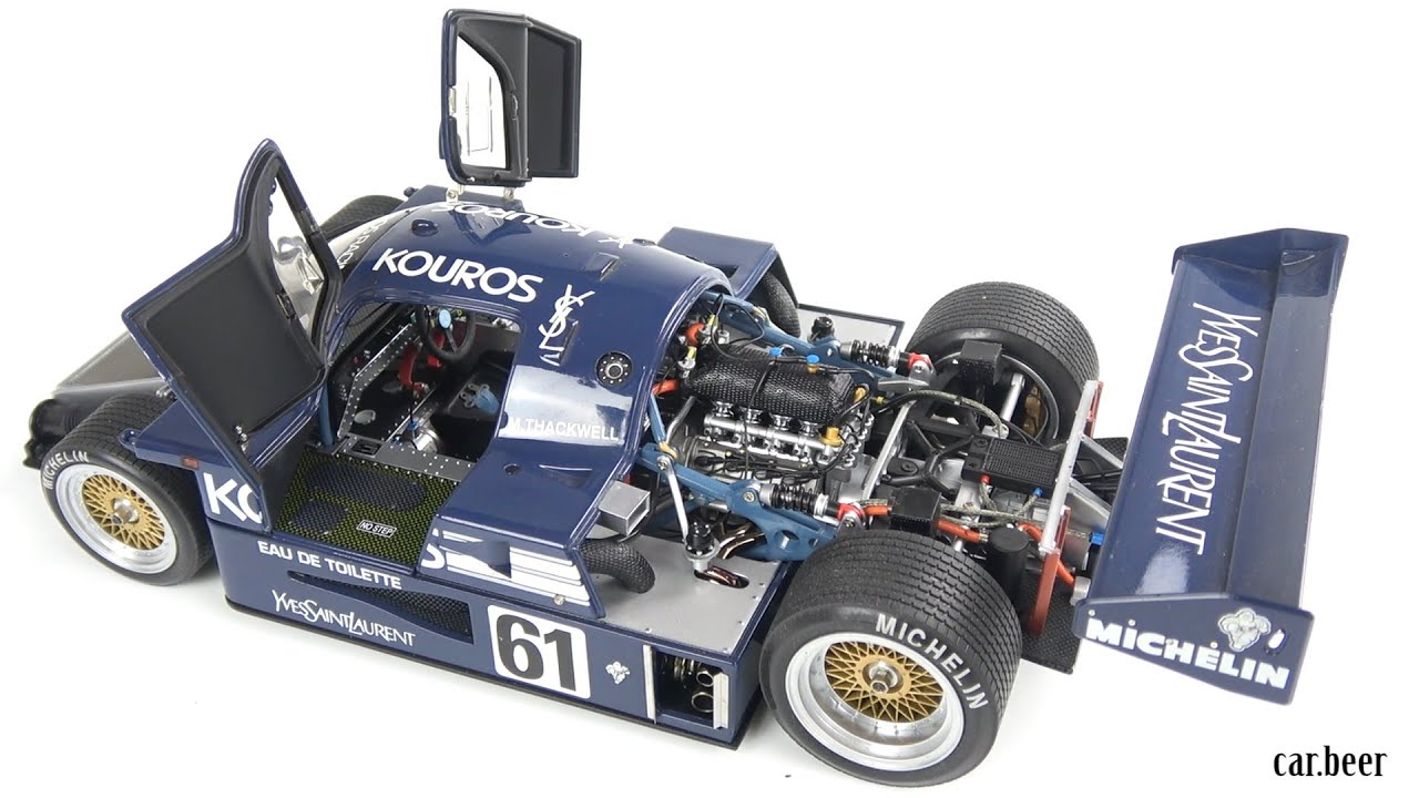 1 18 exoto sauber mercedes c9 review one of the most. Black Bedroom Furniture Sets. Home Design Ideas