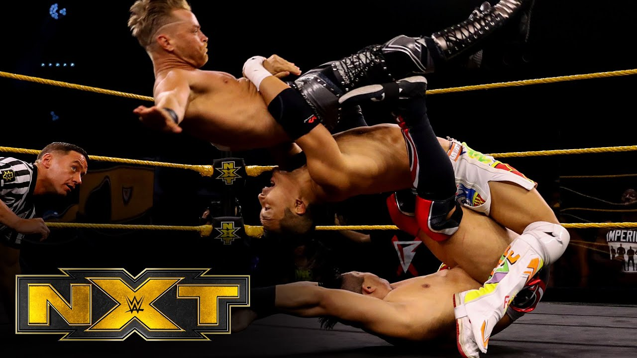 Kushida vs. Drake Maverick vs. Jake Atlas – NXT Cruiserweight Title Tournament Group A: May 27, 2020