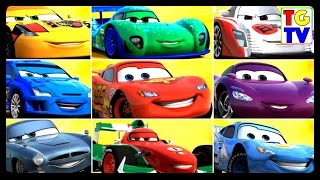 Final Races to Cars Lightning McQueen | Cars Fast as Lightning