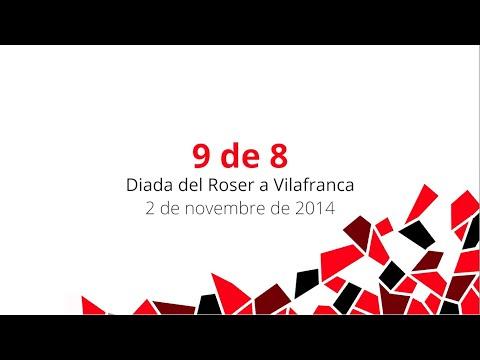 Castells inoblidables (II): 9 de 8 Diada del Roser - 2 de novembre de 2014