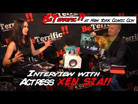 Actress Xen Sia talks