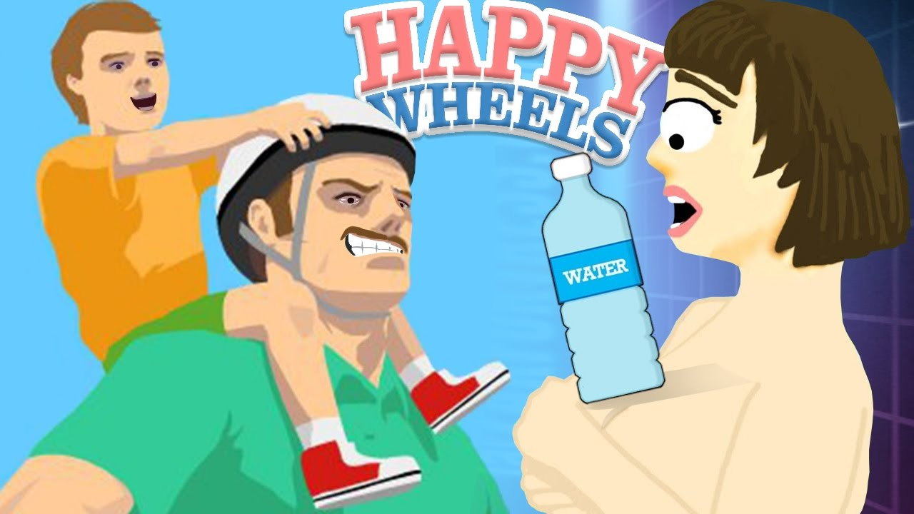 HAPPY WHEELS GLITCH!! | Happy Wheels #70 - YouTube