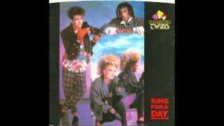 """Thompson Twins – """"King For A Day"""" (Arista) 1985"""