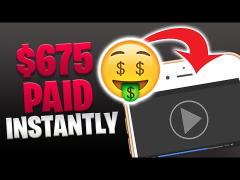 Earn $675 PER HOUR WATCHING VIDEOS [Make Money Online In 2020] – Ryan Hildreth