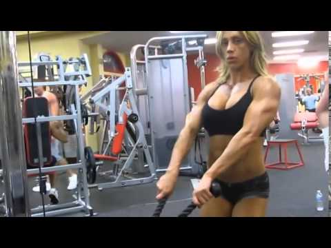 Женский бодибилдинг и фитнес мотивация
