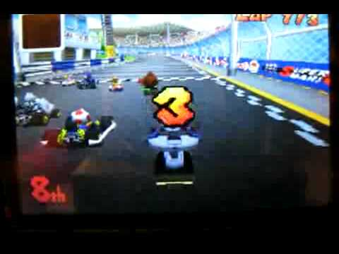 Mario Kart DS 300cc and Moon Jump
