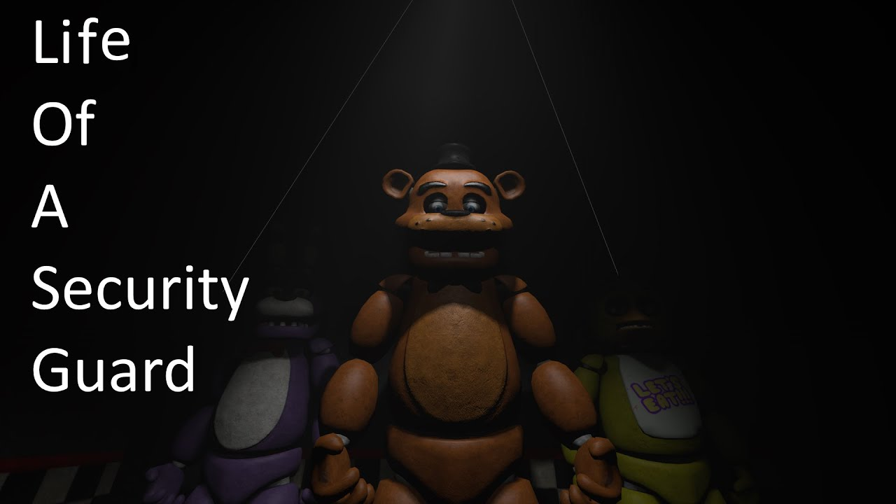 Sfm fnaf life of a security guard youtube
