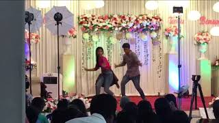 Rowdy Baby Maari 2 dance on wedding stage
