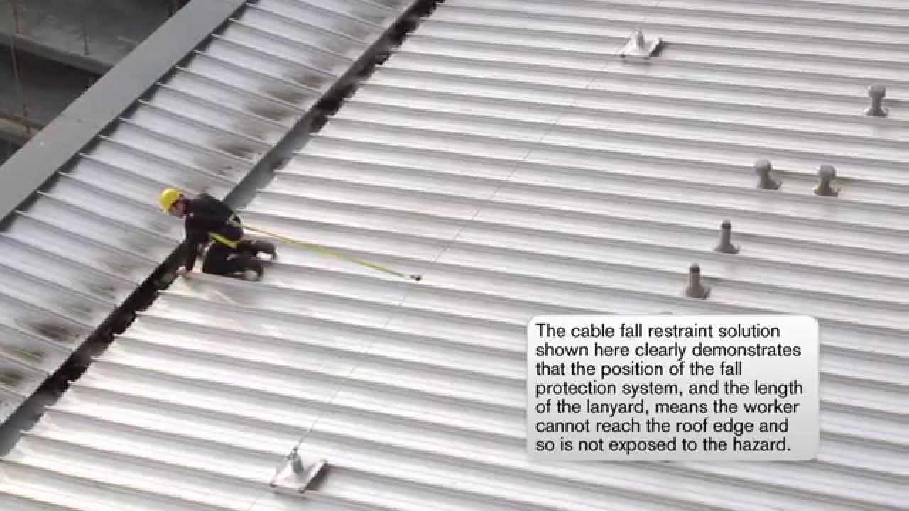 Vajersystem för fallskydd och taksäkerhet - YouTube