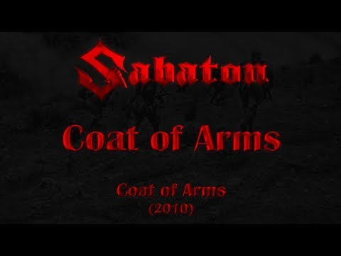 Sabaton - Coat of Arms (Lyrics English & Deutsch)