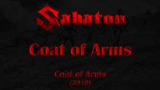 Repeat youtube video Sabaton - Coat of Arms (Lyrics English & Deutsch)