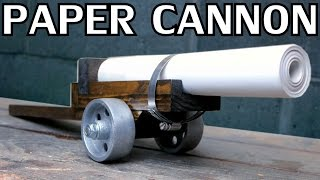 Building a Paper Cannon | Black Powder