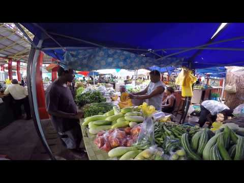 Seychelles Fruit Market 10.04.17