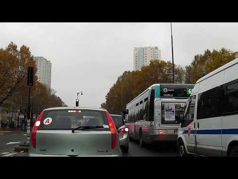 Drive from Paris to Brussels 13-Nov-2016