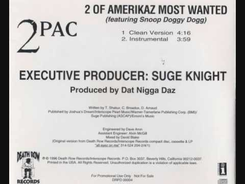 2Pac featuring Snoop Doggy Dogg - 2 of Amerikaz Most Wanted (Instrumental)