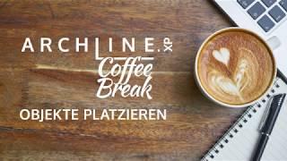 ARCHLine.XP - Die CAD + BIM Software Coffe Break Objekte platzieren