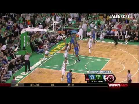 Celtics vs Magic Game 7 5/17/09 - 2009 NBA Playoffs - Jalen Rose analyzes on ESPN