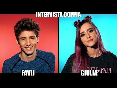 FAVIJ & GIULIA PENNA - INTERVISTA DOPPIA