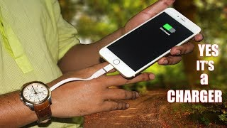 How to charge your phone using body heat    New Inventions