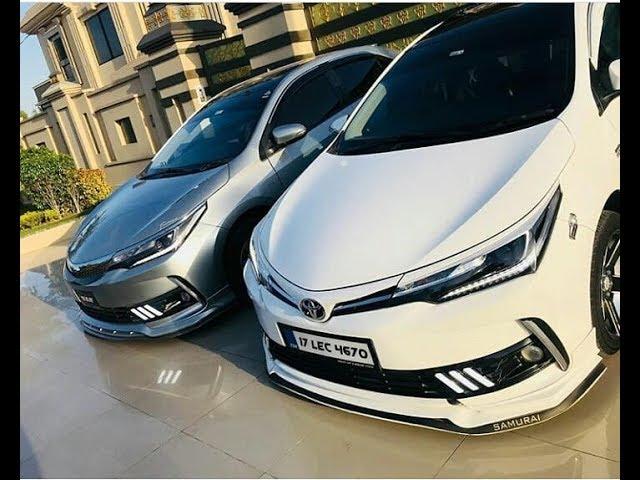Toyota Corolla Altis Grande Facelift Modified Compilation Muneeb Akram