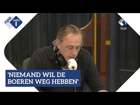Marcel van Roosmalen over het boerenprotest | NPO Radio 1