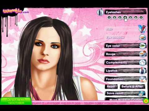 Avril Lavigne Online Makeover Game