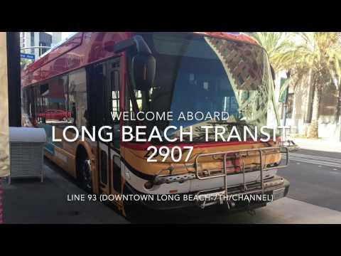Long Beach Transit 2009 New Flyer GE40LFA #2907 | Coin Lloyd's Transit Hub