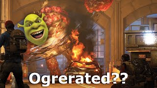Greg gets snatched up by the nasty ogre Shrek while playing the Back 4 Blood early access beta...