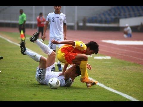 Bhutan vs Afghanistan (Highlights) SAFF Championships 2011