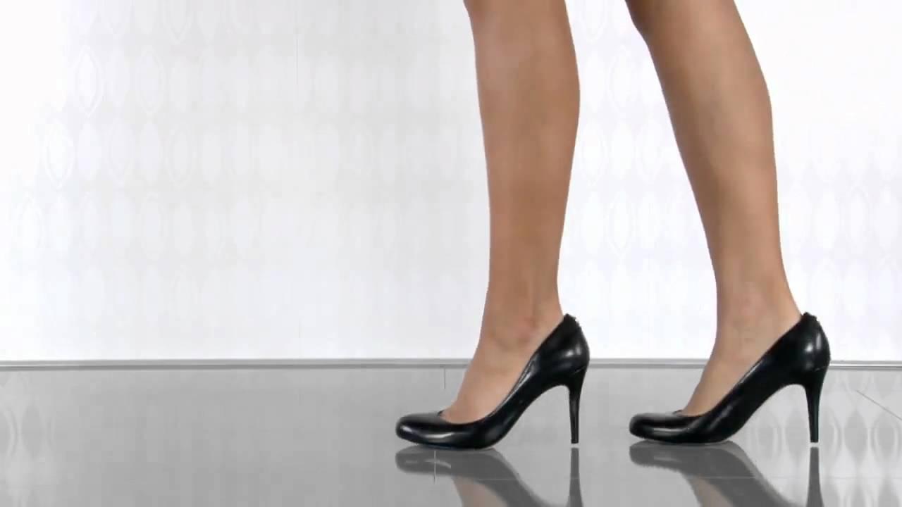 Ivanka Trump Amoro in Black Leather