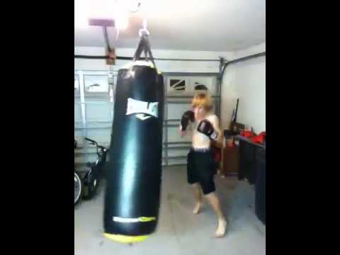 d5855989855 80 lb heavy bag. How can I improve  - YouTube
