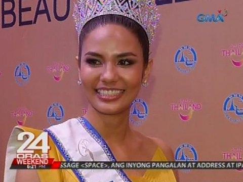 Thai Beauty Queen Chalita Suansane, balik-Pilipinas bilang tourism ambassadress ng Thailand