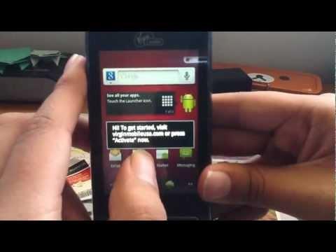LG Optimus Slider (Virgin Mobile) Unboxing
