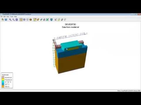 NanoTCAD simulator Bulk