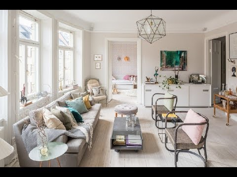Eclectic Stockholm Apartment Boasts Charm, Character | Stockholm, Sweden | HD