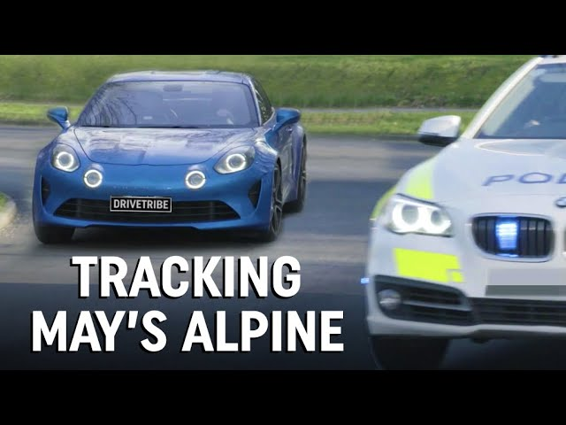 The police tracked down James May's Alpine A110!