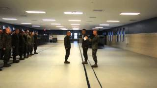 Chris Meritorious Gunnery Sgt Promotion part 1