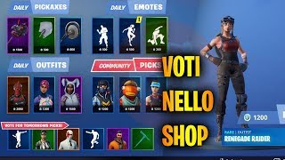 🔴 STANOTTE YES VOTE LO SHOP Fortnite ITA Patch 10.30