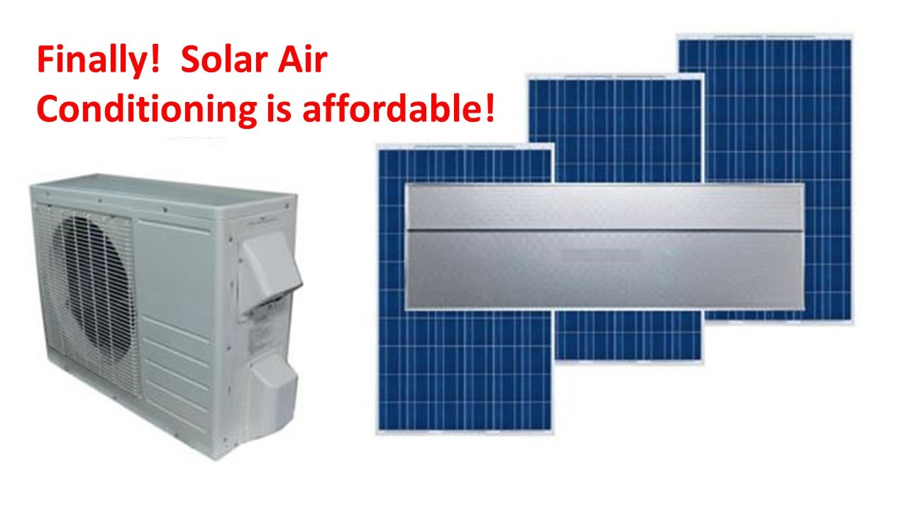 hight resolution of solar air conditioning part 2
