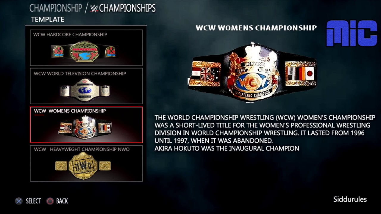 WWE 2K18 ARENAS + CHAMPIONSHIP TITLES FOR PLAYSTATION 4 AND X BOX ONE  PREDICTION