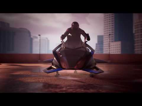 Randumb - World's First Flying Motorcycle Is On Sale Now