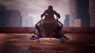 Introducing our flying Motorcycle: THE SPEEDER
