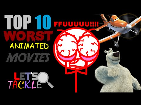 Baixar Top 10 Worst Animated Movies   Let's Tackle