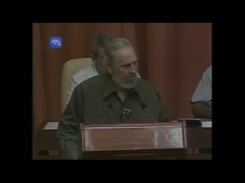 Raw Video Fidel Castro Addresses Cuba's National Assembly