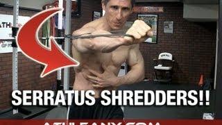 The FORGOTTEN Core Muscles Workout - Serratus Shredders!