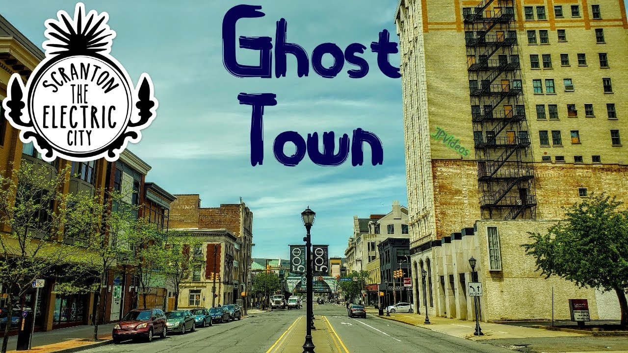 Download Let's Take A Walk In Downtown Scranton, Pa During Lockdown (Touring Towns)