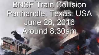 Panhandle Texas Train Wreck w/ Major Fire 6-28-16 Dispatch Audio