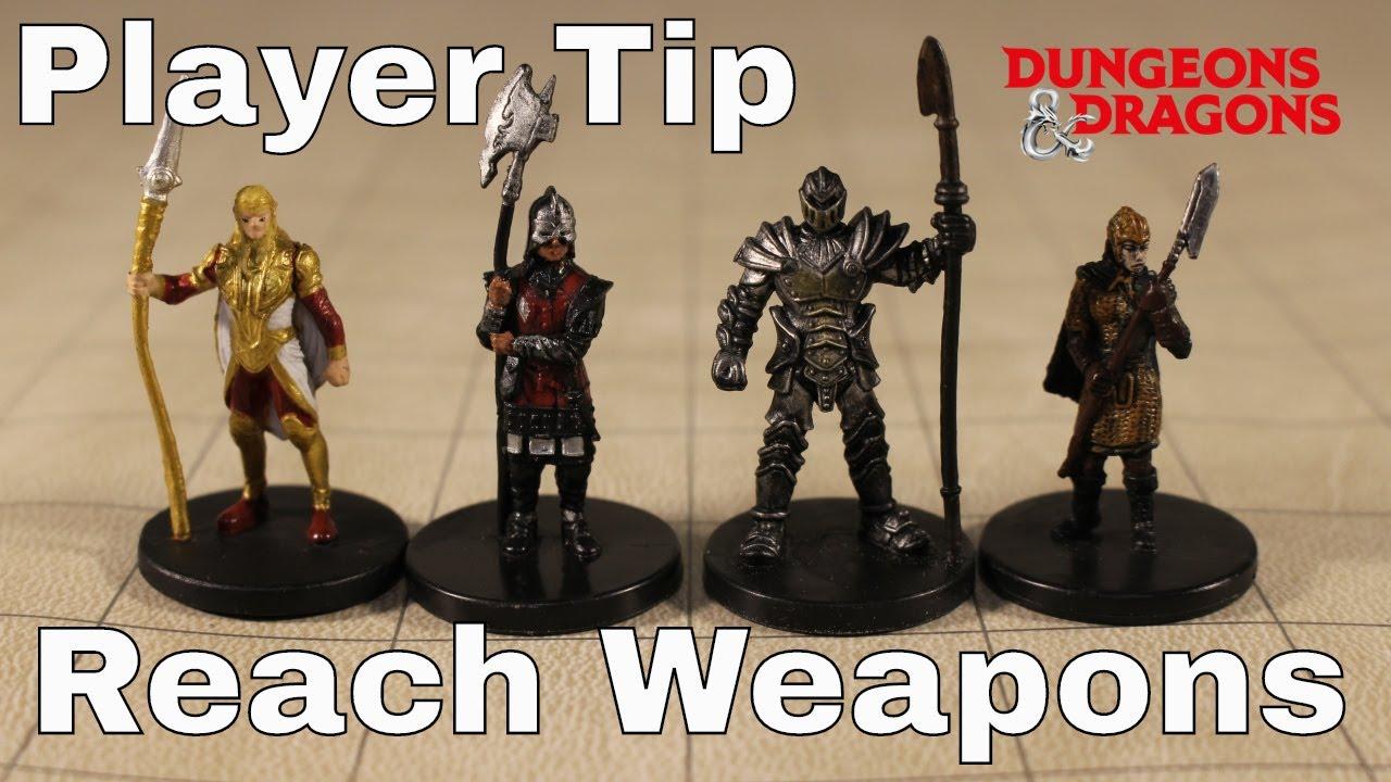D&D (5e): Reach Weapons, Player Tactics (Tip)