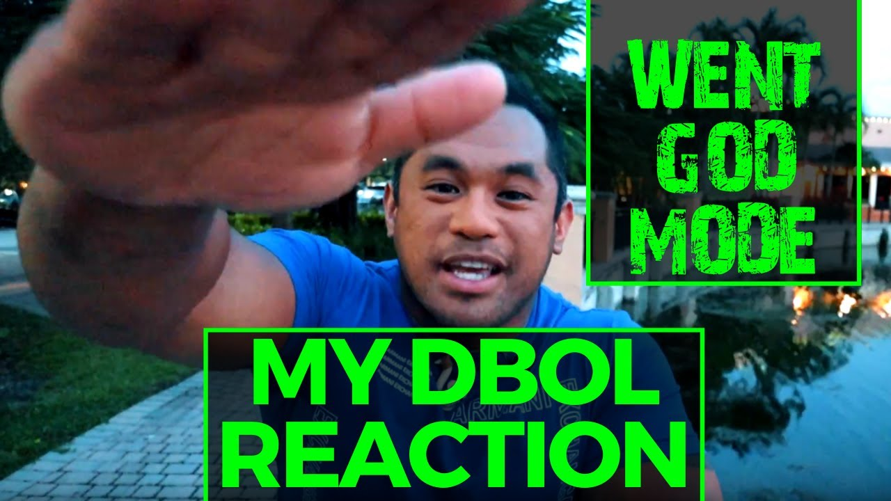 Reaction and Results From My First DBOL CYCLE